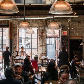 Café in Toronto
