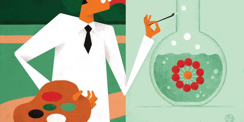Illustration von Nicola Ferrarese für transform