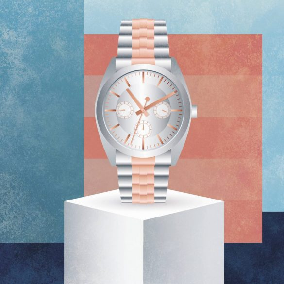 Inbegriff des klassischen Luxus. ein schwerer Chronograph. Bild: Dominika Kowaslka für transform