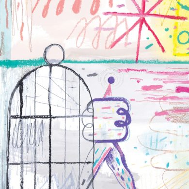 Luxus für alle! Illustration Richard Klippfeld für transform